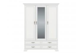 Распашной шкаф Tiffany в цете Вудлайн кремовый