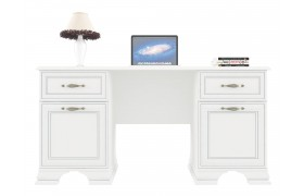 Письменный стол Tiffany в цвете Вудлайн кремовый