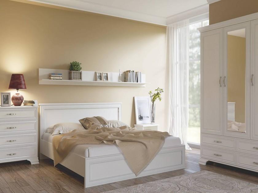 спальный гарнитур Спальня Tiffany в цвете Вудлайн кремовый