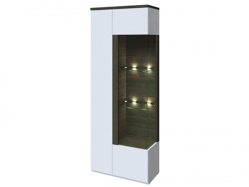 витрина Шкаф-витрина 2-х дверный левый Тоскано Тоскано цена в Москве и Питере