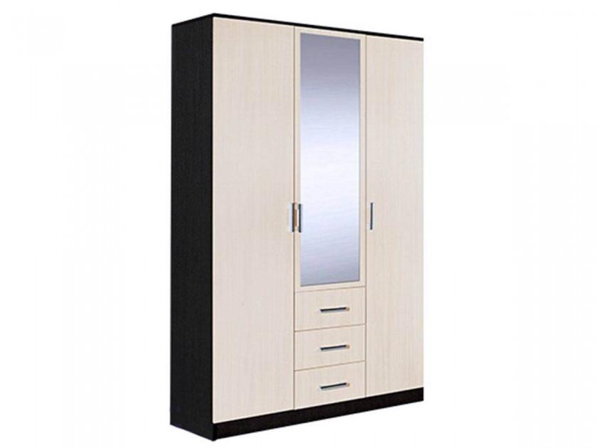 распашной шкаф Шкаф распашной 3-х створчатый комб. Светлана Светлана в цвете Дуб молочный