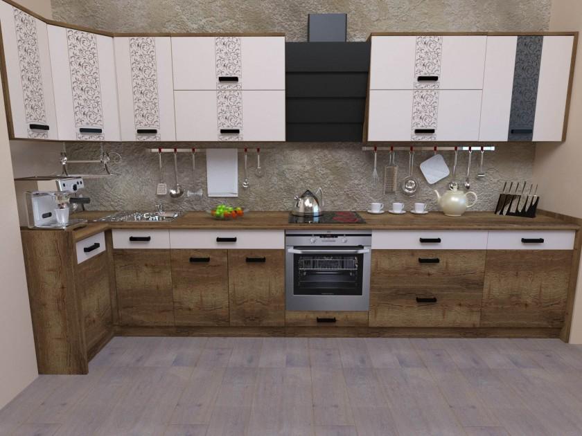 кухонный гарнитур Кухня Адель угловая Кухня Адель угловая
