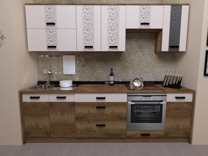 кухонный гарнитур Кухня Адель 2600 Кухня Адель 2600
