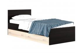 Кровать с матраом и ящком Виктория (80х200)