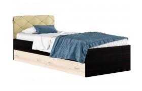 Кровать с матраом и ящком Виктория (90х200)