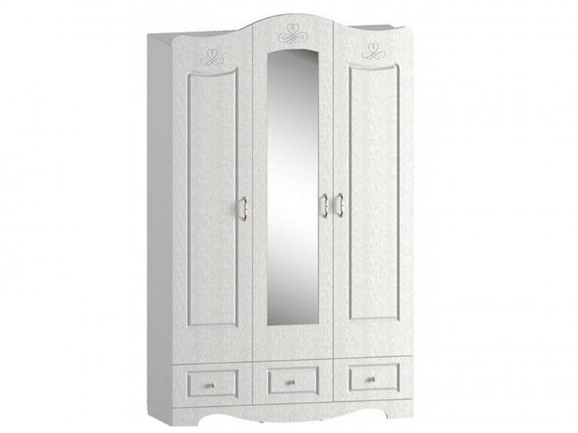распашной шкаф Шкаф для одежды и белья трехстворчатый Путник Шкаф для одежды и белья трехстворчатый Путник