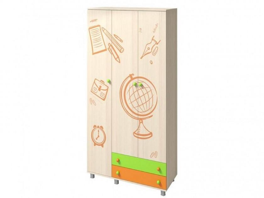 распашной шкаф Шкаф трехстворчатый Незнайка Шкаф трехстворчатый Незнайка
