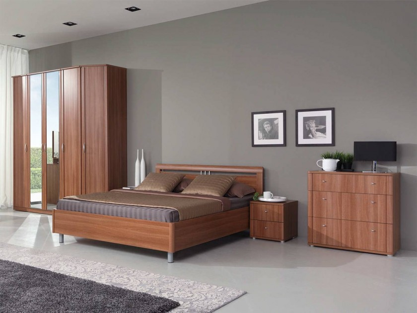спальный гарнитур Спальня Концепт 2 Концепт Орех Sorento