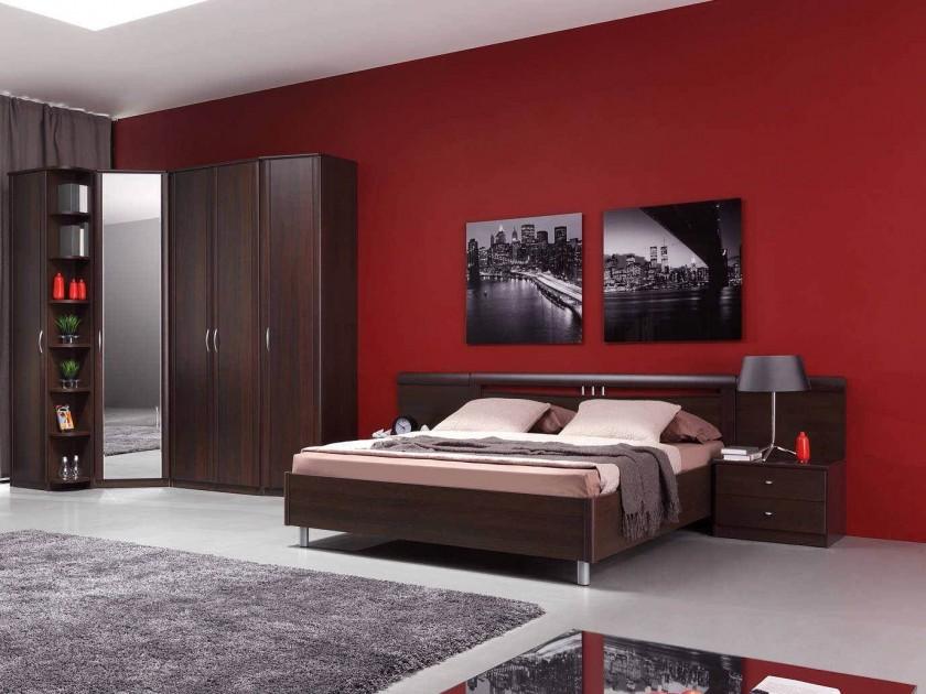 спальный гарнитур Спальня Концепт 2 Дуб темный