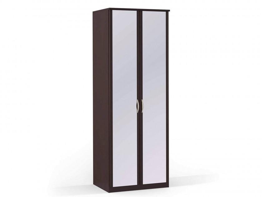 распашной шкаф Шкаф платяной 2-х дверный с зеркалами Концепт Концепт Дуб темный шкаф платяной 2 х дверный с зеркалами uno