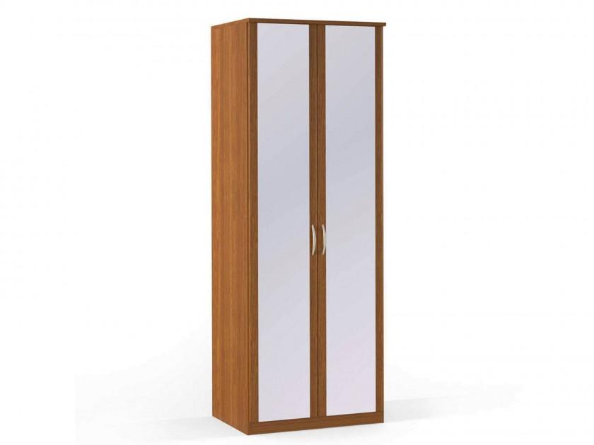 распашной шкаф Шкаф платяной 2-х дверный с зеркалами Концепт Концепт Орех Sorento шкаф платяной 2 х дверный с зеркалами uno
