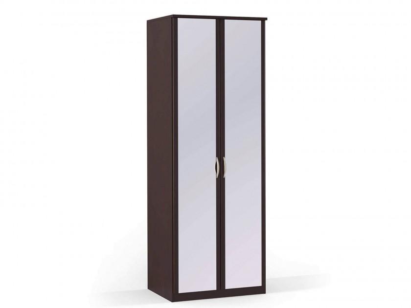распашной шкаф Шкаф платяной 2-х дверный с зеркалами Концепт МДФ Концепт Дуб темный шкаф платяной 2 х дверный с зеркалами uno