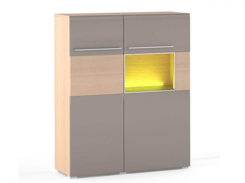 шкаф Шкаф со стеклом справа Lumio 1 Lumio
