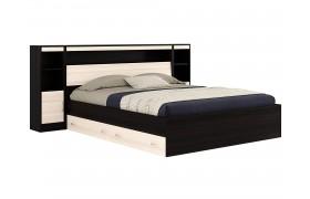 Кровать с пб, ящикам, тумбами и матраом ГОСТ Виктория (180х200