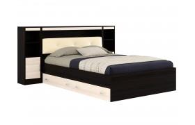Кровать Кровать с пб, ящиками, тумбами и матрасом ГОСТ Виктория ЭКО-П (1