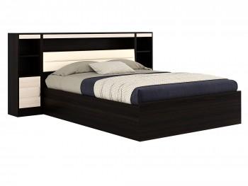 Кровать Кровать с пб, тумбами и матрасом ГОСТ Виктория-МБ (140х200)