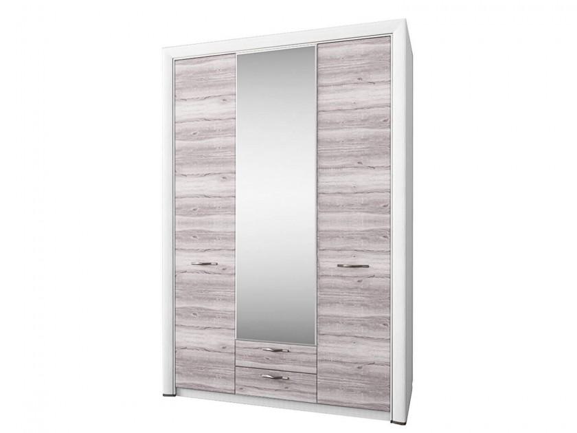 распашной шкаф Шкаф 3-х дверный с зеркалом Olivia Olivia цена в Москве и Питере