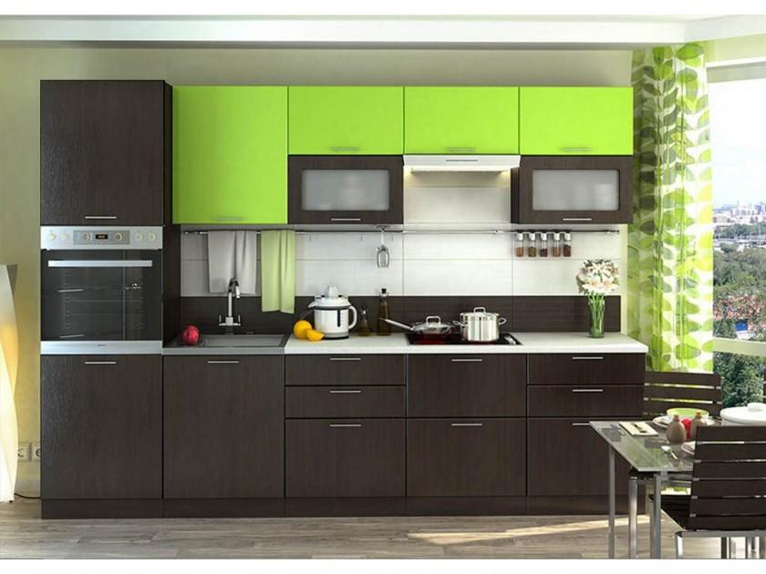 кухонный гарнитур Кухня Валерия М 2700 Валерия М Цвет каркаса Венге