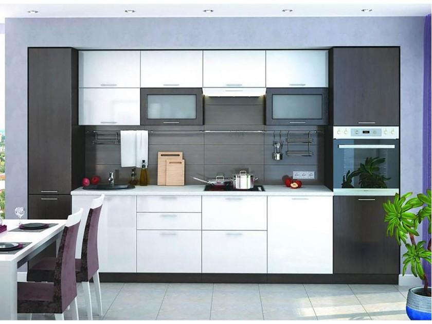 кухонный гарнитур Кухня Валерия М 3100 Валерия М Цвет каркаса Венге