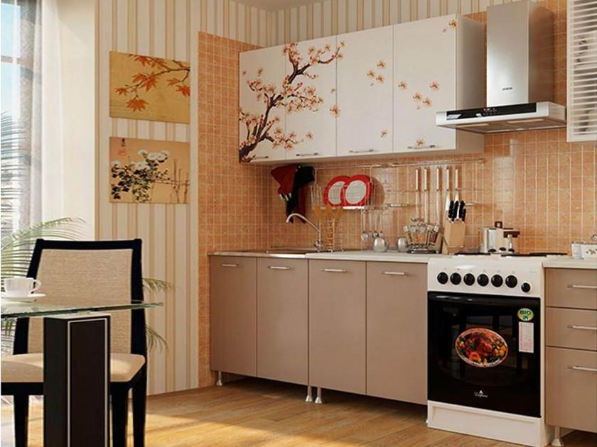 кухонный гарнитур Кухня Сакура 2000 Фотопечать
