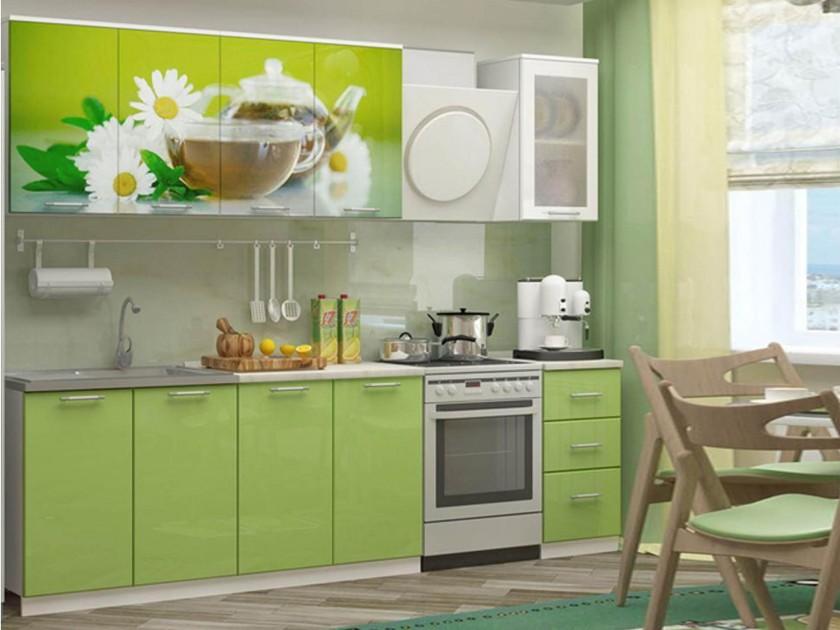 Кухня Ванильный чай 2000 Фотопечать недорого