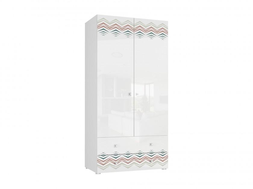 распашной шкаф Шкаф 2-х дверный Модерн-Абрис Модерн