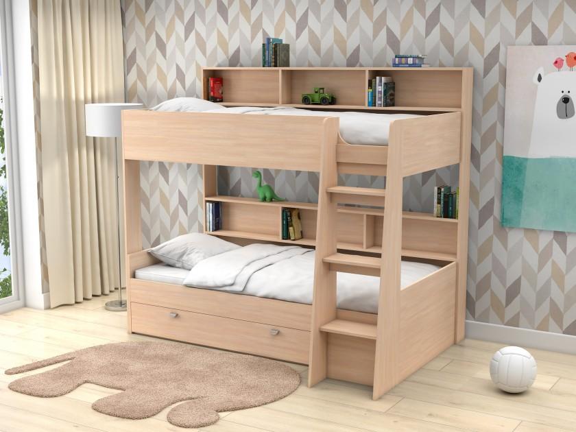 кровать Двухъярусная кровать Golden Kids-1 (90х200) Golden Kids-1 комплект одежды golden kids