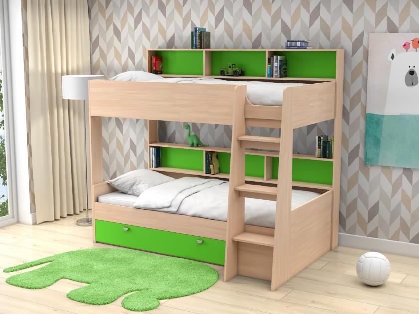 кровать Двухъярусная Golden Kids-1 (90х200)