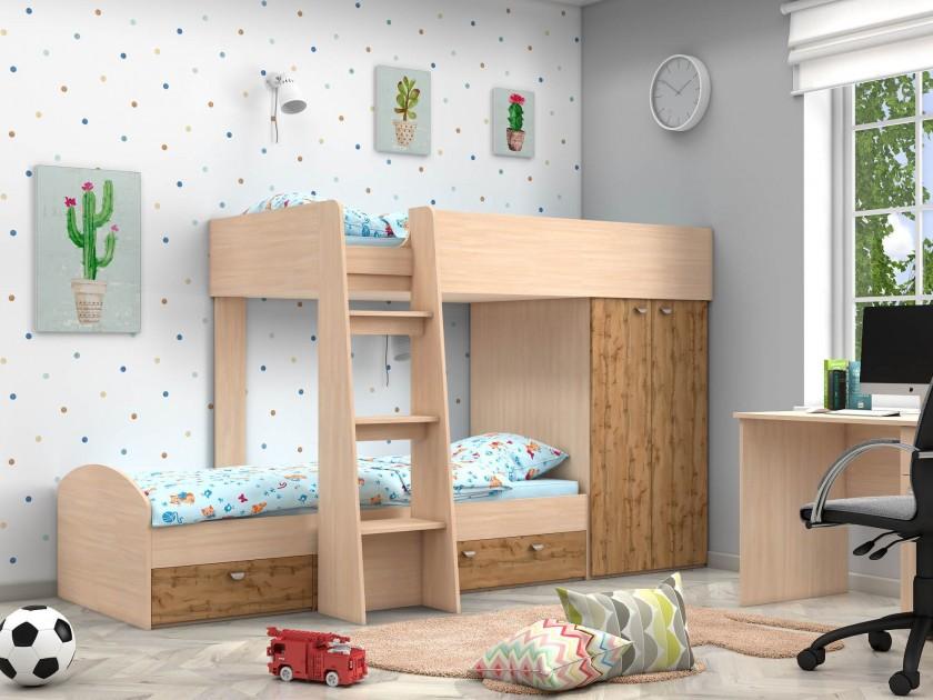 кровать Двухъярусная Golden Kids-2 (90х200)