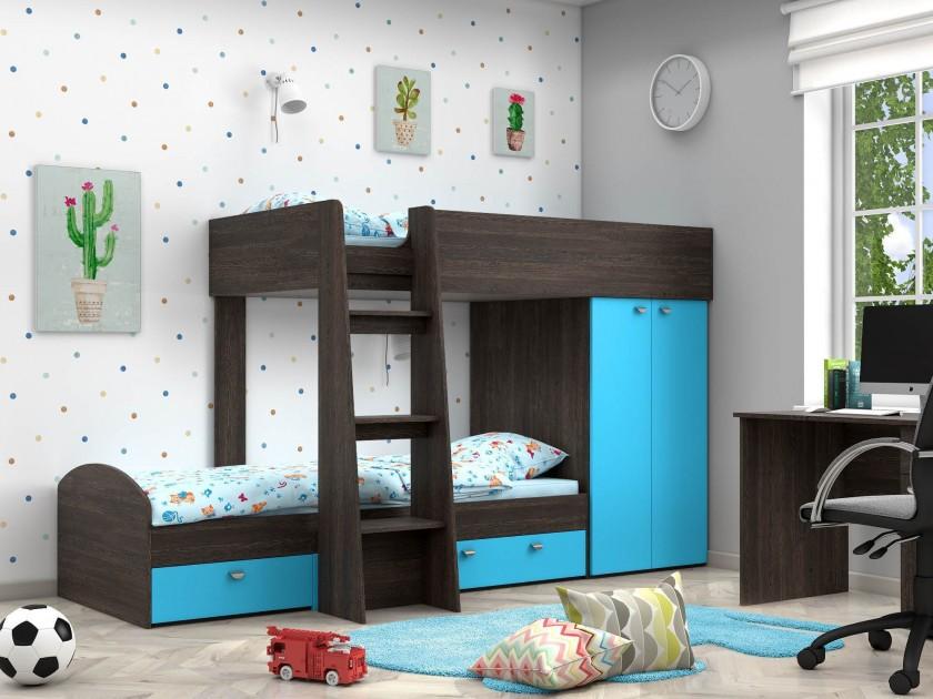 кровать Двухъярусная кровать Golden Kids-2 (90х200) Golden Kids-2 комплект одежды golden kids