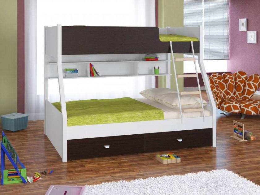 кровать Двухъярусная Golden Kids-3 (90х190/120х190)