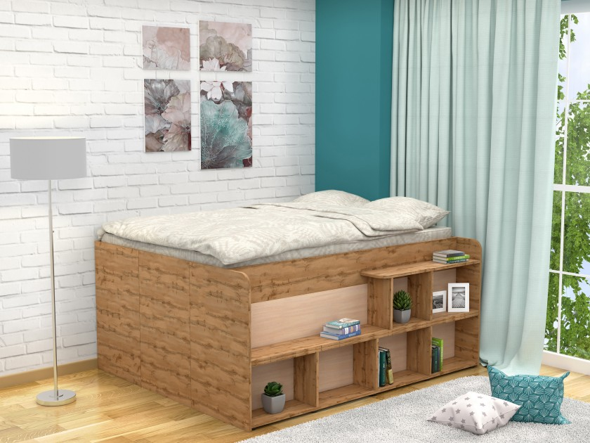 кровать Кровать Левая Twist UP (140х190)