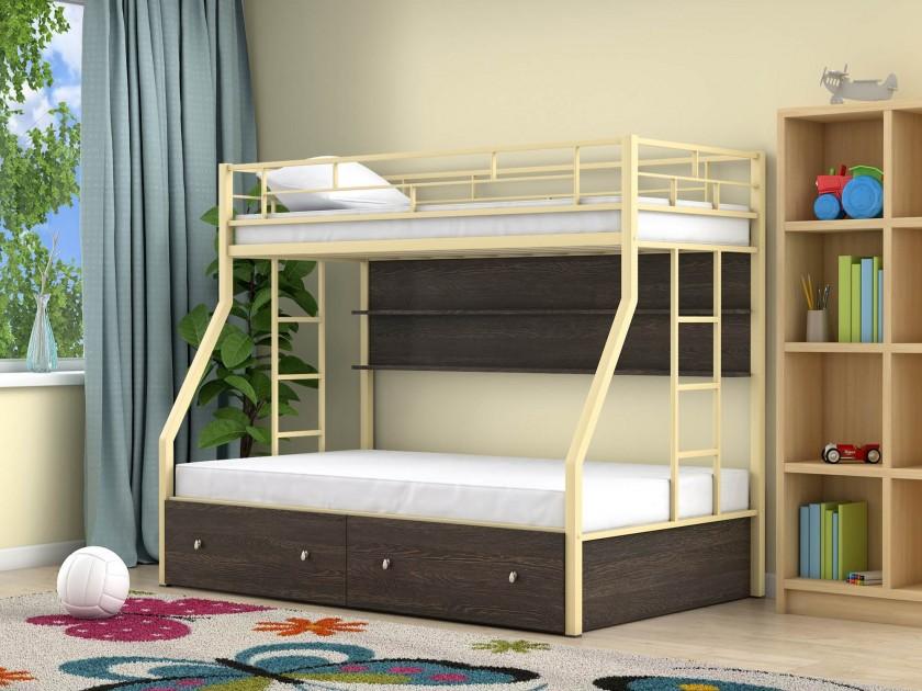 кровать Двухъярусная кровать Милан (90х190/120х190) Милан