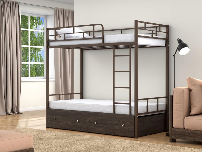 кровать Двухъярусная кровать Валенсия (90х190/90х190) Валенсия боковая панель belbagno 75 левая bb 75 sp l