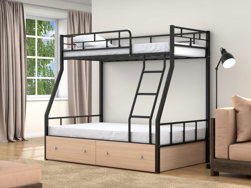 Двухъярусная кровать Раута (90х190/120х190) Раута