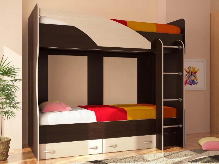 кровать Двухъярусная кровать Мийа Двухъярусная кровать Мийа ваза для фруктов двухъярусная nuova cer тыква nc7393 odn al