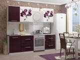 Кухня с фотопечатью Орхидея 1 недорого