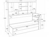 Двухъярусная кровать Golden Kids 8 (90х190/85х185) купить