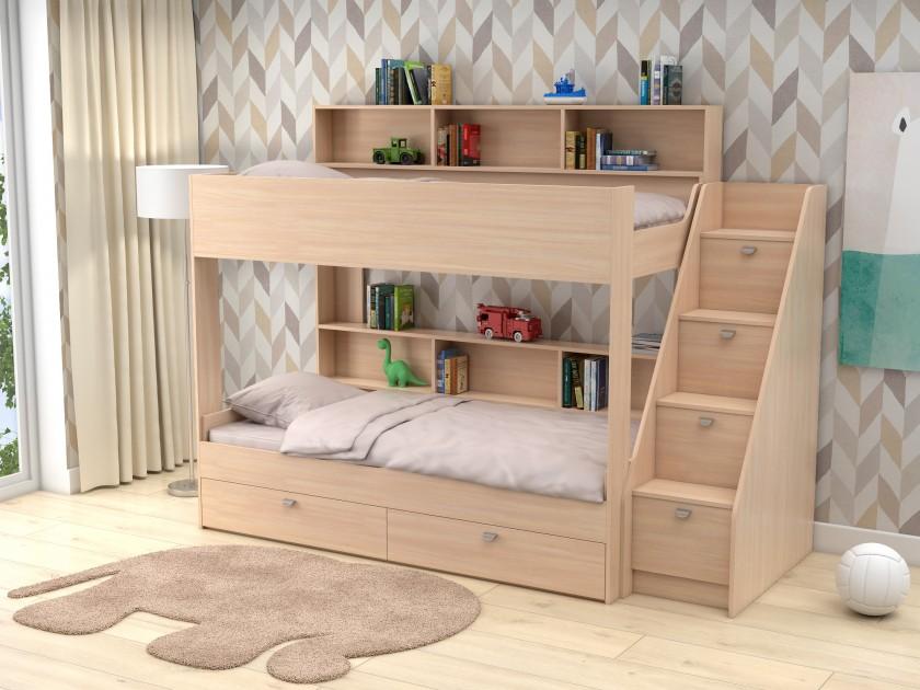 кровать Двухъярусная кровать Golden Kids 10 (90х190) Двухъярусная кровать Golden Kids 10 (90х190)