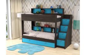 Кровать Двухъярусная кровать Golden Kids 10 (90х190)