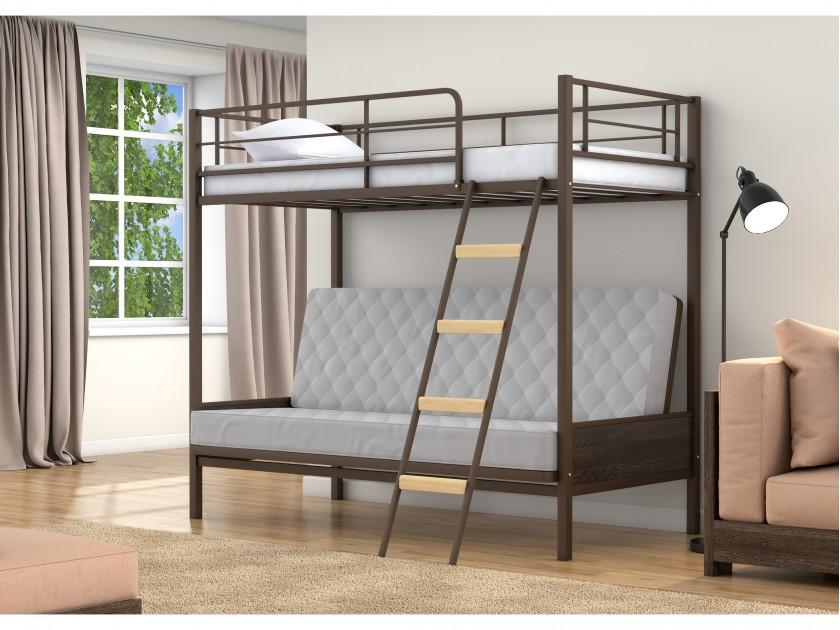 кровать Двухъярусная кровать диван Дакар 2 (90х190/190х120) Дакар