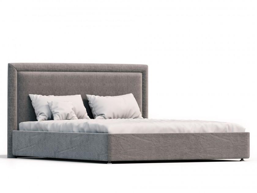 Кровати двуспальные 1800х2000 мм с мягким изголовьем