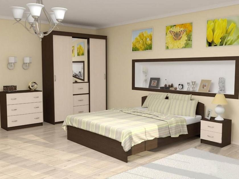 спальный гарнитур Спальня Рио-2 Рио-2 мастеровой с сост эргономика квартиры ч 2 спальня кабинет гардеробная