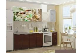 Кухонный гарнитур Чёрный чай 2000
