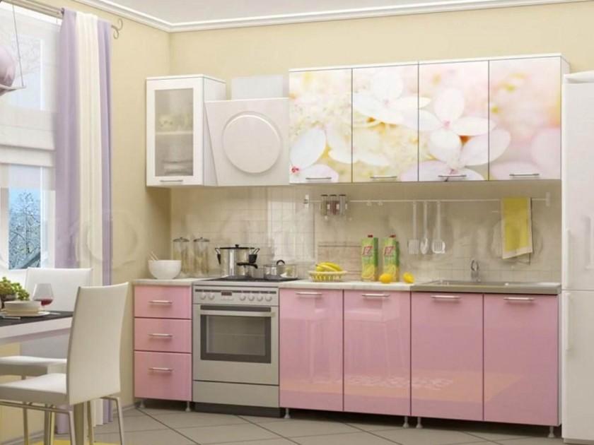 кухонный гарнитур Кухня Вишнёвый цвет 2000 Кухня Вишнёвый цвет 2000