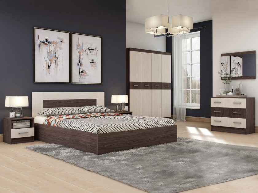 спальный гарнитур Спальня Сити-3 Спальня Сити-3