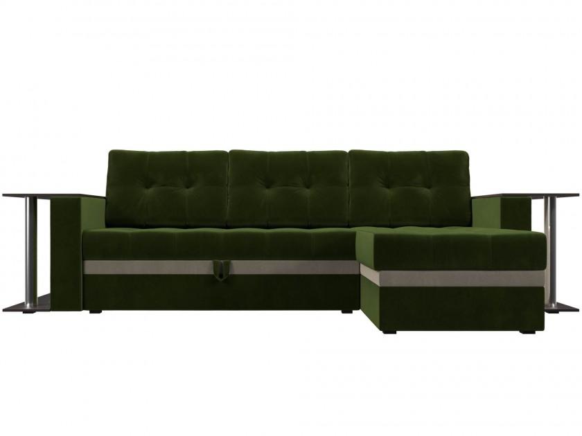 Фото - диван Угловой диван Атланта М Правый Атланта М 282 (вельвет) диван угловой диван атланта м левый атланта м 282 вельвет