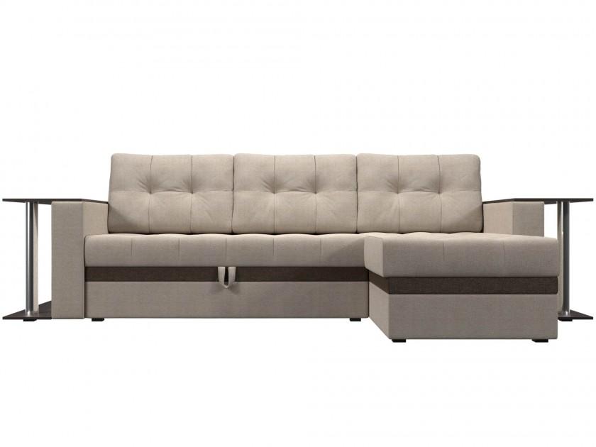 Фото - диван Угловой диван Атланта М Правый Атланта М 282 (рогожка) диван угловой диван атланта м левый атланта м 282 вельвет
