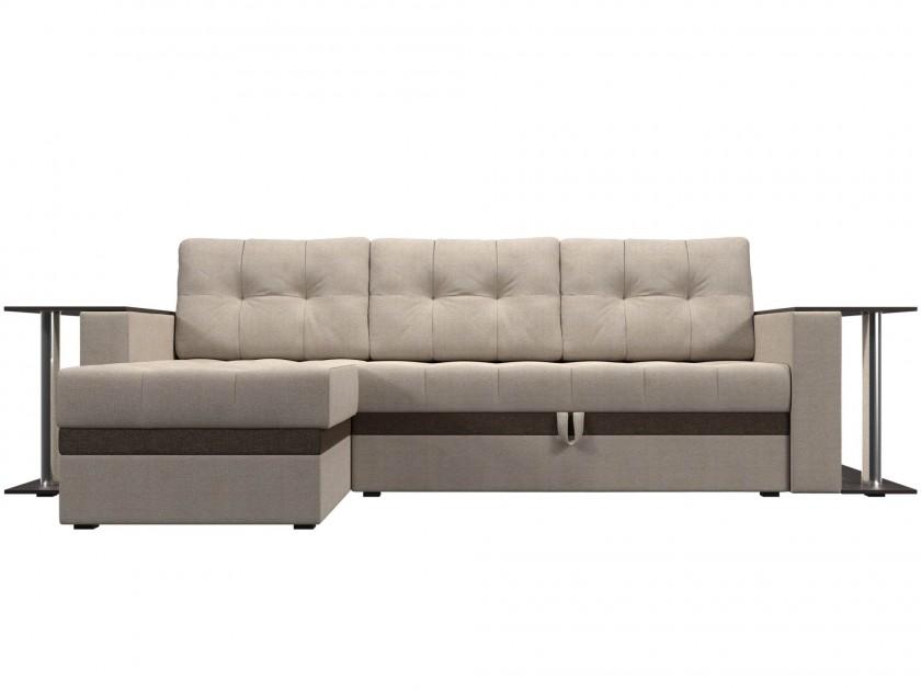 диван Угловой диван Атланта М Левый Атланта М 282 (рогожка)