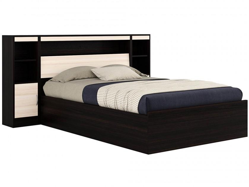кровать Кровать с блоком, тумбами и матрасом Promo B Cocos Виктория (140х200) Кровать с блоком, тумбами и матрасом Promo B Cocos Виктория (140